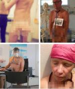 Kekurangan APD, Dokter Jerman Gelar Protes Tanpa Busana