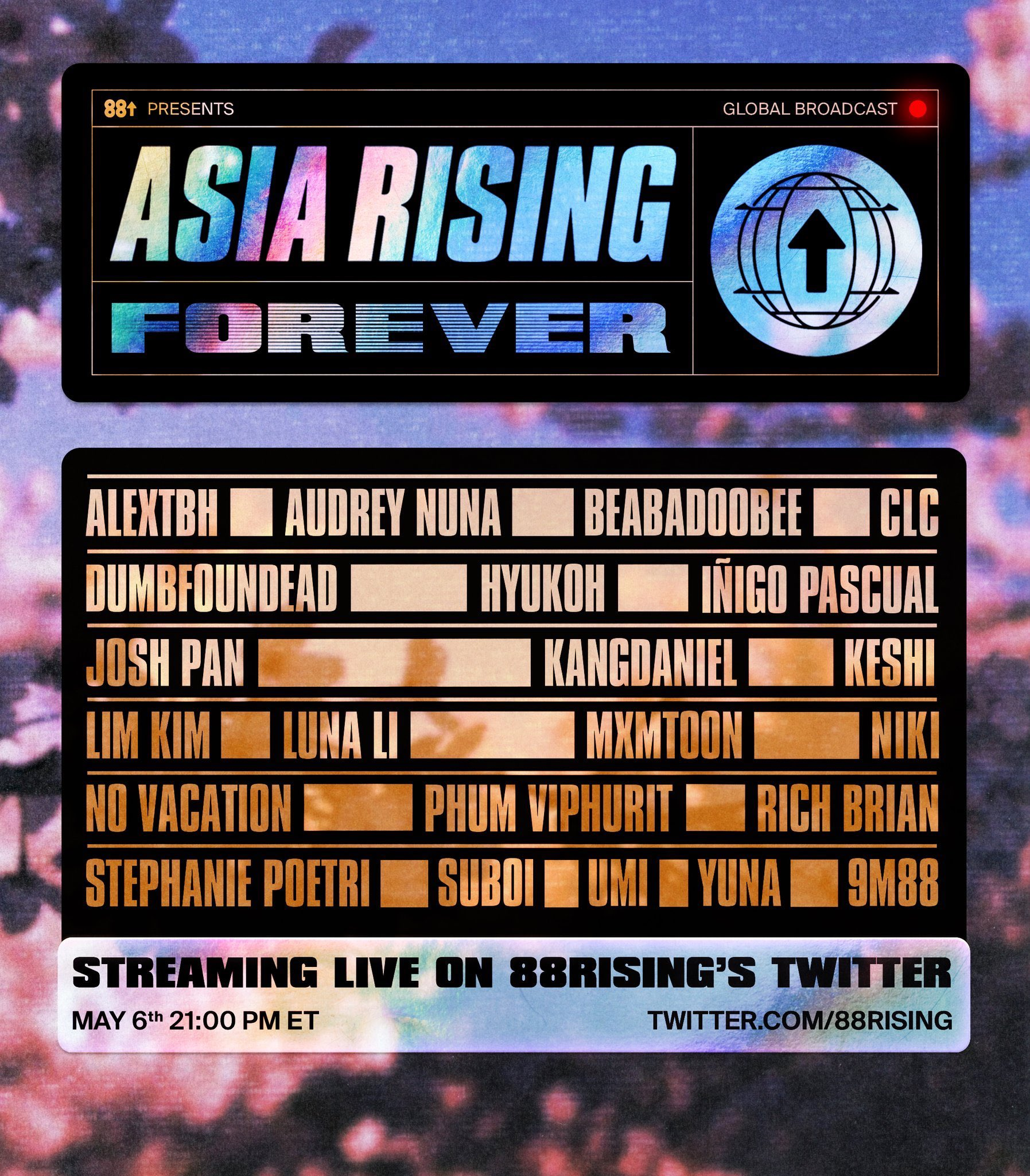 ASIA RISING FOREVER by 88Rising