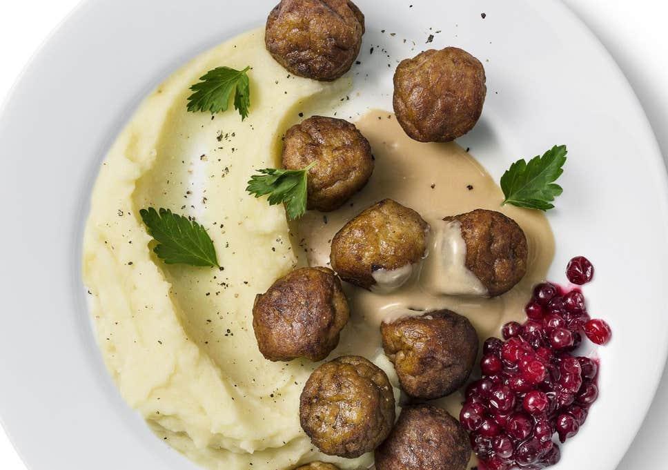 Swedish Meatballs a la IKEA