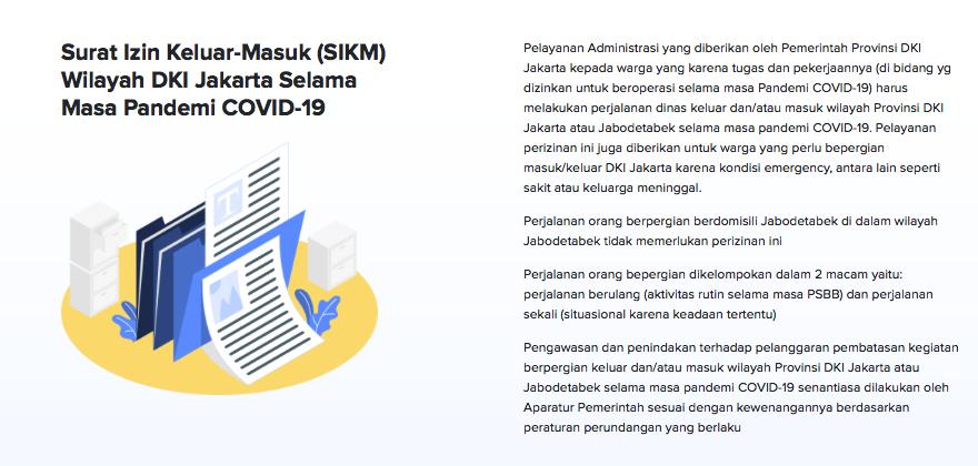 Surat Izin Masuk Jakarta, 'Tanpanya' Lo Harus Putar Balik!