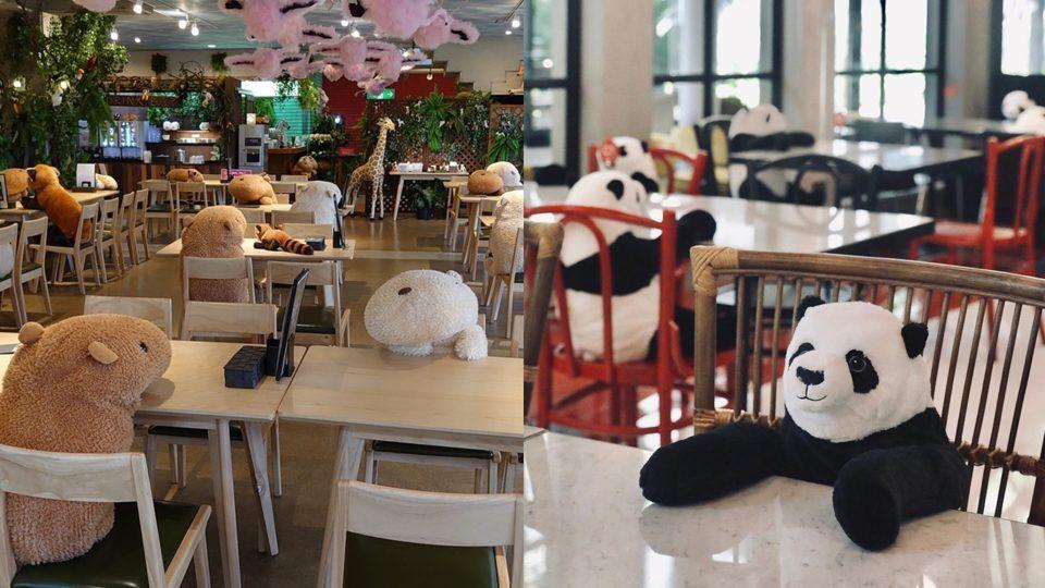 Terapkan Physical Distancing, Restoran Jepang Ini Manfaatkan Boneka