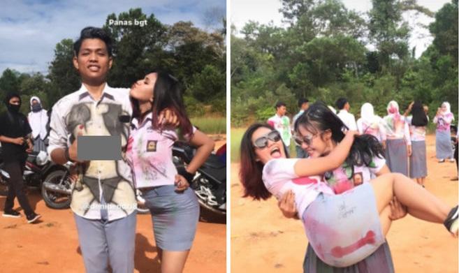 Kemendikbud Selidiki Pelajar SMA Riau yang Corat-Coret