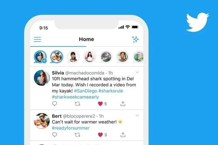 Twitter Uji Coba Fitur Baru yang Mirip Instastory