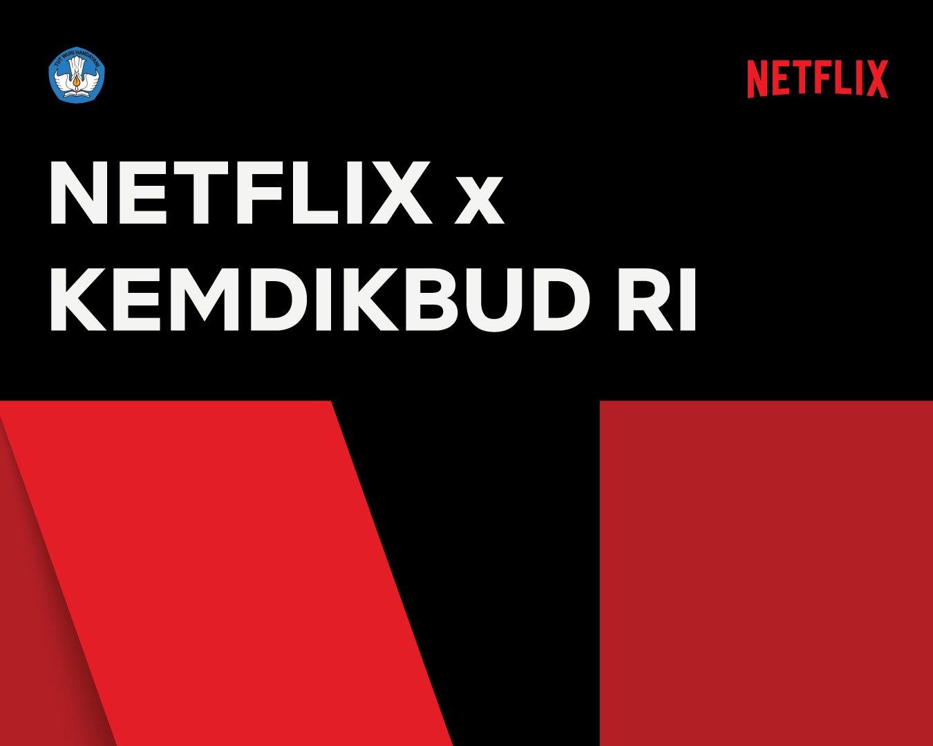 Netflix dan Kemendikbud Kerja Sama, Tayangan Edukatif Netflix akan Hadir di TVRI