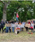 Protestan Papua Hadiri Demonstrasi #BlackLivesMatter di Inggris