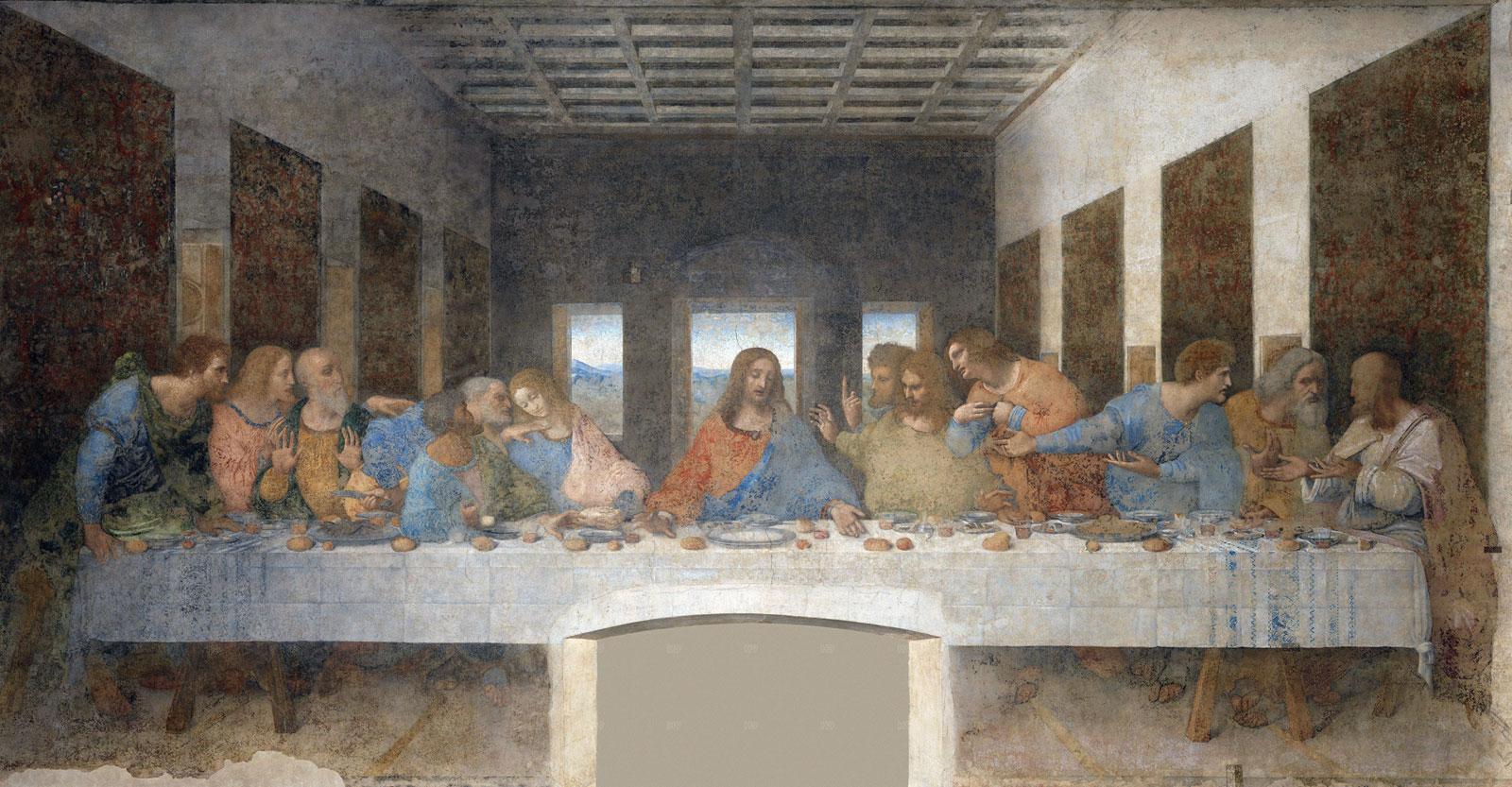 """Berkat Google, Detail Baru Lukisan """"The Last Supper"""" Karya Leonardo da Vinci Terungkap"""