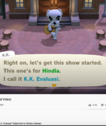 KK. Evaluasi, Lagu 'Evaluasi' Hindia ala Animal Crossing! #ACNH