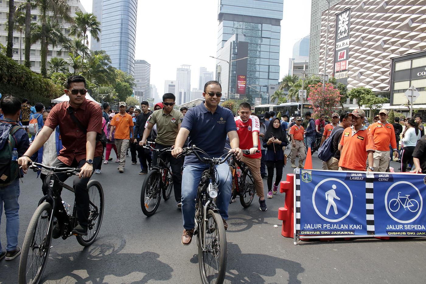 Car Free Day Sudirman-Thamrin Ditiadakan, Ini Dia Lokasi Terbaru Penyebaran CFD