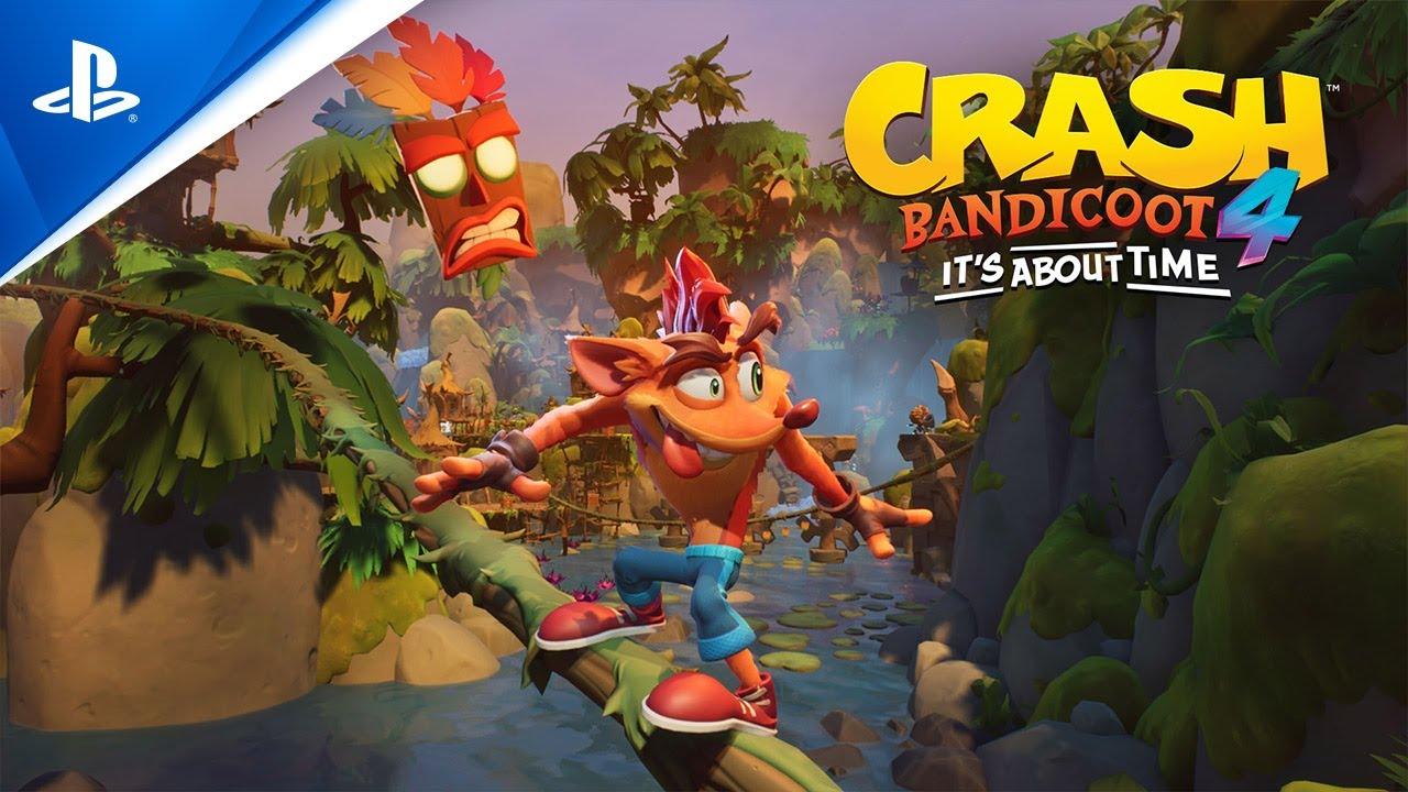 Crash Bandicoot 4 : It's About Time Dijadwalkan Rilis Tahun Ini! Kapan Tepatnya?