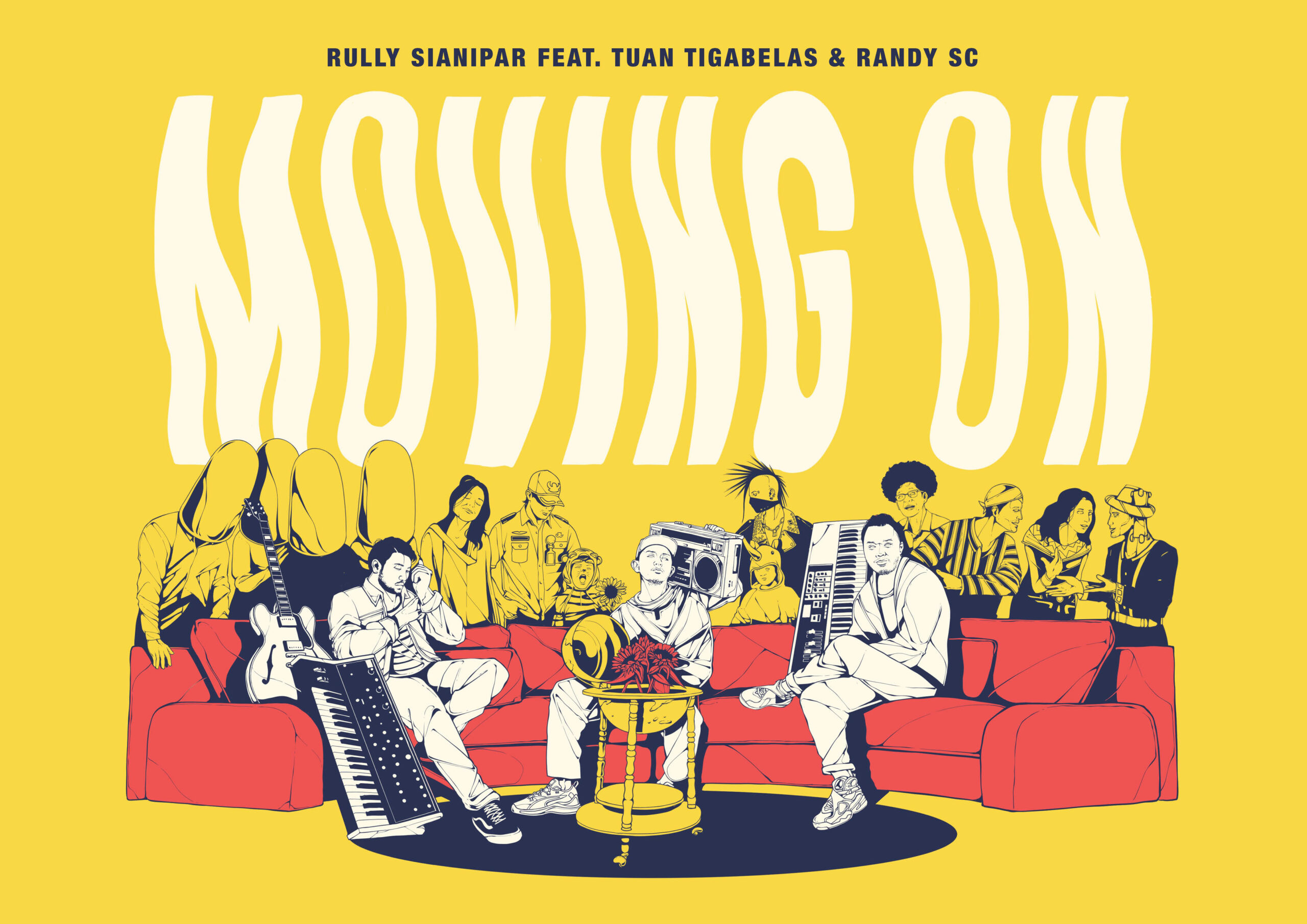 """Rully Sianipar, Tuantigabelas dan Randy Sc Suarakan Pesan Optimisme Lewat Single """"Moving On"""""""