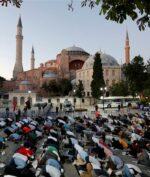 Hagia Sophia Gelar Salat Jumat Perdana Hari Ini!