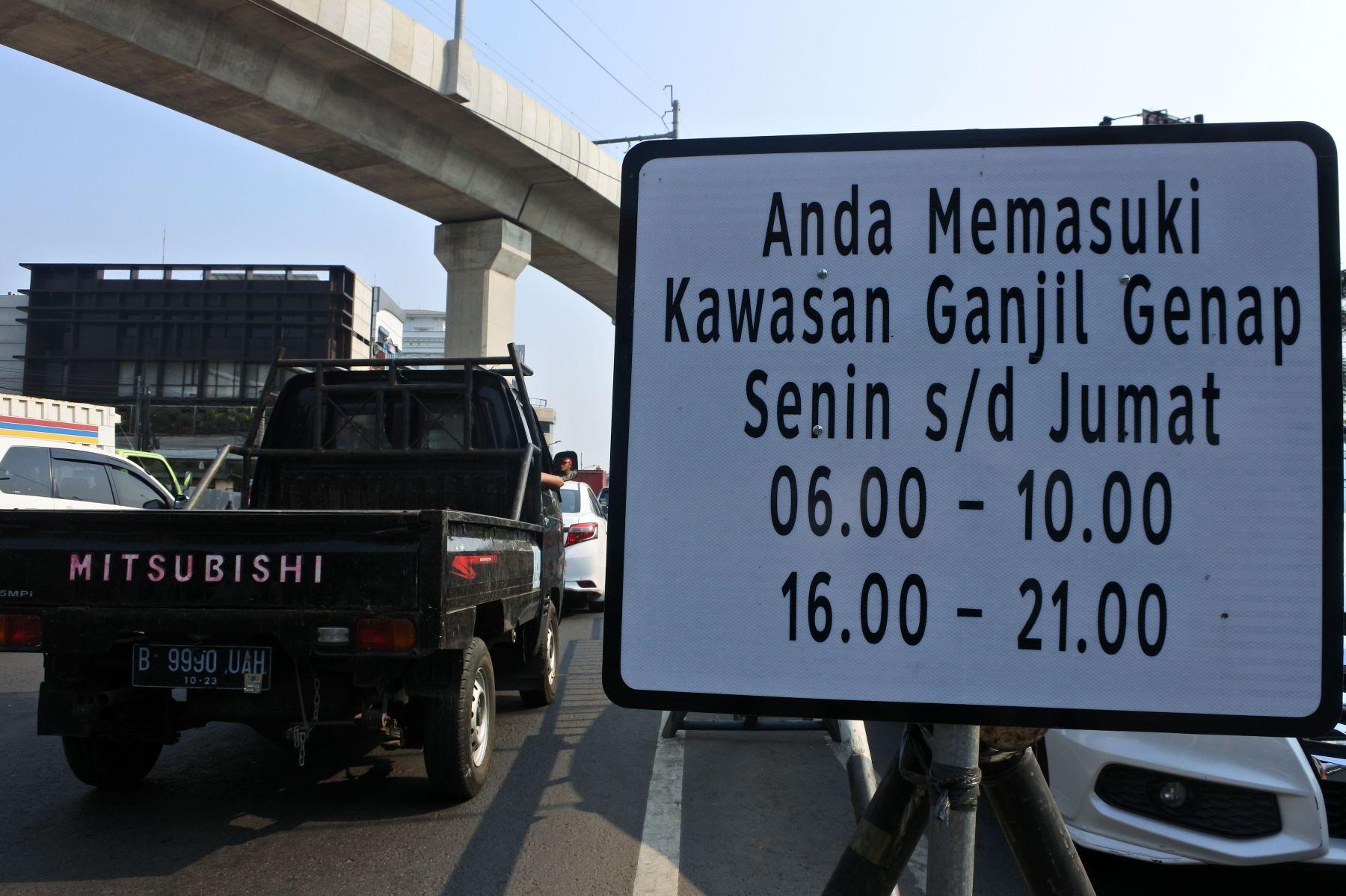"""Ganjil Genap Berlaku Kembali Mulai Minggu Depan, Berikut Daftar Ruas Jalan yang Terkena """"GAGE""""!"""