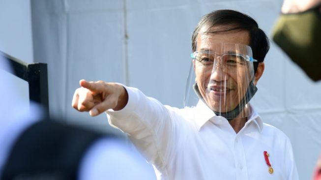 Jokowi Lakukan Swab Test, Apa Hasilnya?