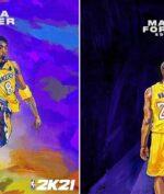 Kobe Bryant Jadi Cover 2K21 di 'Mamba Forever Editions'