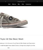 """Sepatu """"Kotor"""" Converse Ini Dijual Dengan Harga yang Cukup Tinggi!"""