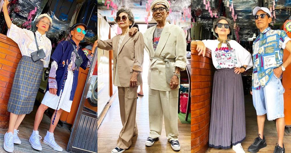 """Viral, Kakek Nenek Pemilik Laundry Foto """"OOTD"""" Pakai """"Cucian"""" yang Ditinggalkan Pemiliknya!"""