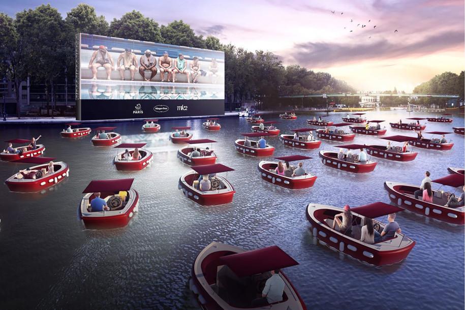 Drive In Cinema, Kalah Keren Sama Konsep Bioskop di Prancis! Seperti Apa Sih Bioskopnya?