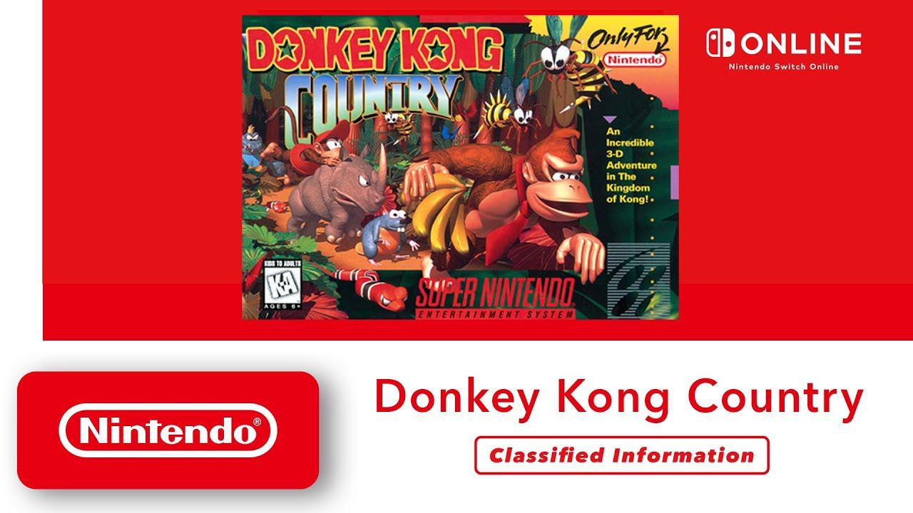 Donkey Kong Country Akan Bisa Dimainkan Oleh Pengguna Nintendo Switch, Begini Caranya!