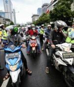 'Ganjil Genap Motor' akan Diberlakukan di Wilayah Jakarta? (KOMPAS.com/GARRY LOTULUNG)