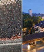 Hujan Cokelat Turun di Swiss, Ini Penyebabnya