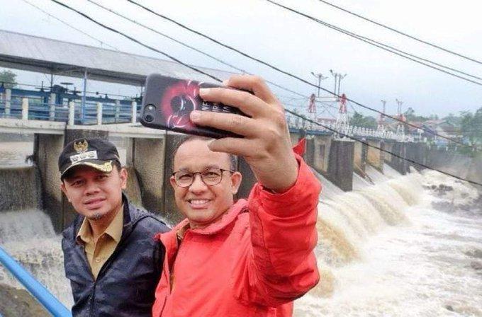 Anies Dorong Warga Jadi Content Creator, Siap Sediakan Internet Gratis (foto: Twitter/Gun Romli)