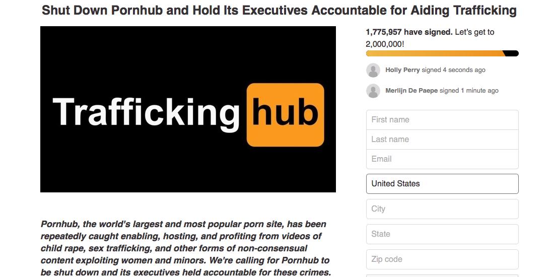 "PornHub Diminta Tutup Layanan Mereka Karena Dugaan ""Human Trafficiking""!"