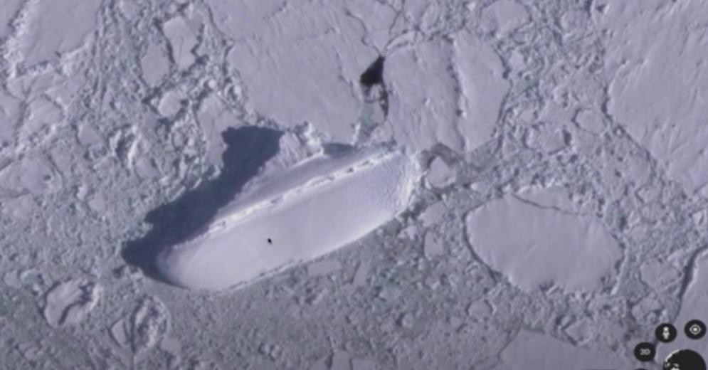 """Kapal Misterius """"Tertangkap"""" Google Earth, Seperti Apa Rupanya?"""