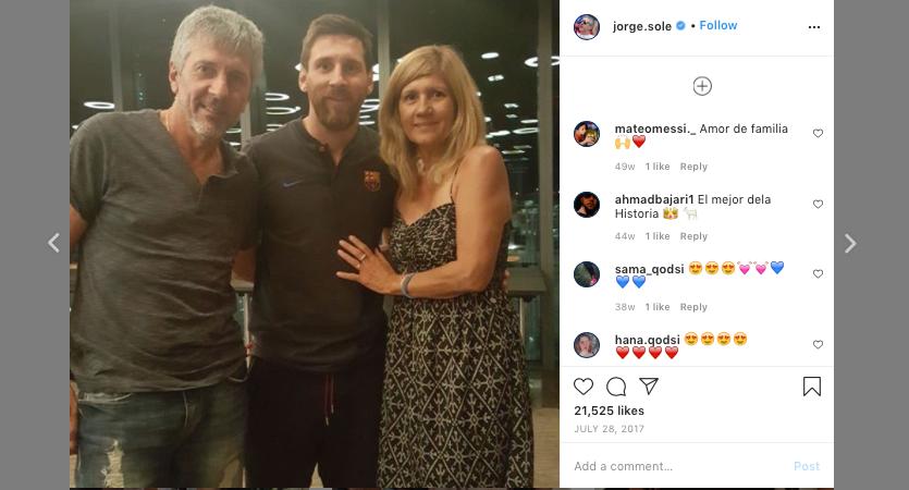 Messi Tinggalkan Barcelona Itu Bohong, Begitu Kata Sang Ayah! Lah?