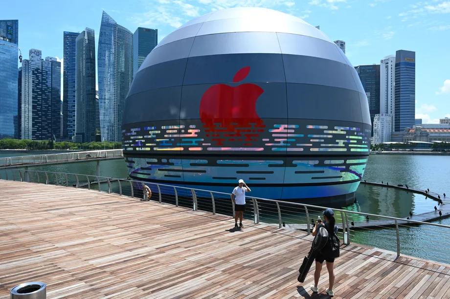 Apple Dirikan Toko Terapung Pertama di Dunia (via Getty Images)