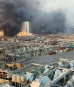 Ledakan Lebanon (foto: Reuters)