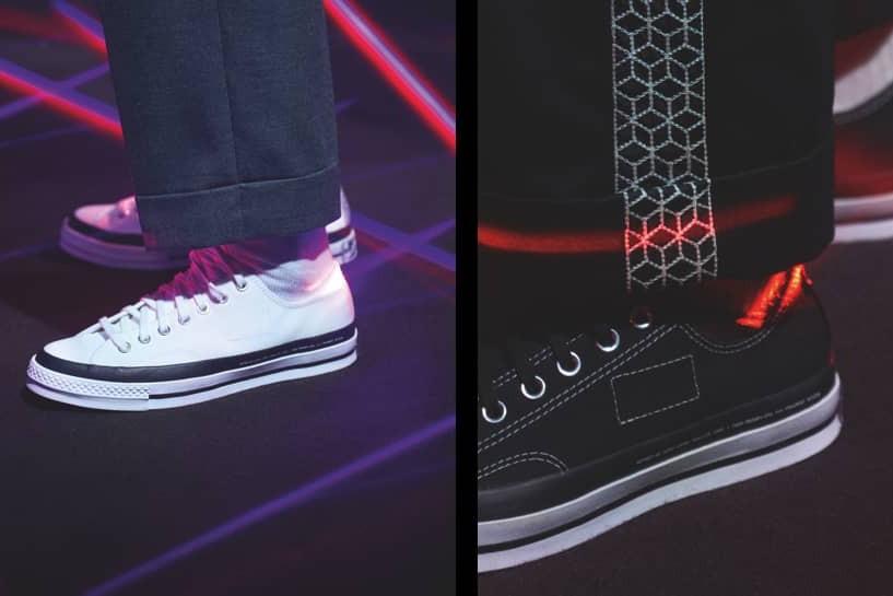 Sepatu Converse Chuck 70 X 7MONCLER X Fragment Design, Begini Tampilannya!