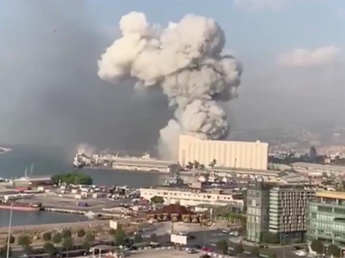 Ledakan di Lebanon Viral di Sosial Media, Apa Penyebabnya?