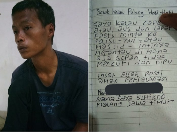 Tunawicara Naik Sepeda dari Malang-Jakarta Demi Cari Orang Tua