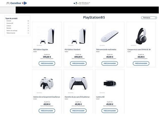 Harga PlayStation 5 Bocor Lewat Katalog Carrefour Perancis