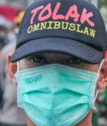 Omnibus Law Jadi Sorotan Media Asing (ANTARA FOTO/FAKHRI HERMANSYAH)