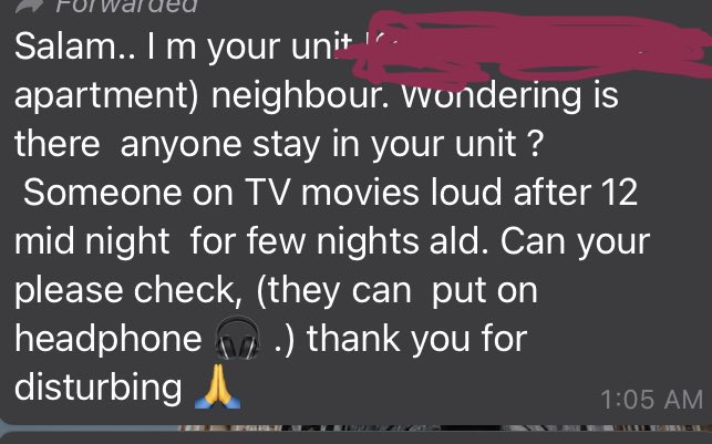 Dimarahi Tetangga Karena 'Berisik', Apartment Tersebut Sudah Lama Kosong!