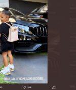 """Hari Pertama Sekolah, Stormi """"Kylie Jenner"""" Pakai Tas Seharga 12.000 US Dollar!"""