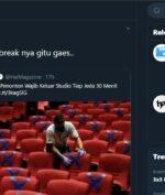 "Bioskop Indonesia Wajibkan Pengunjung Untuk ""Break Keluar"" Setiap 30 Menit?"