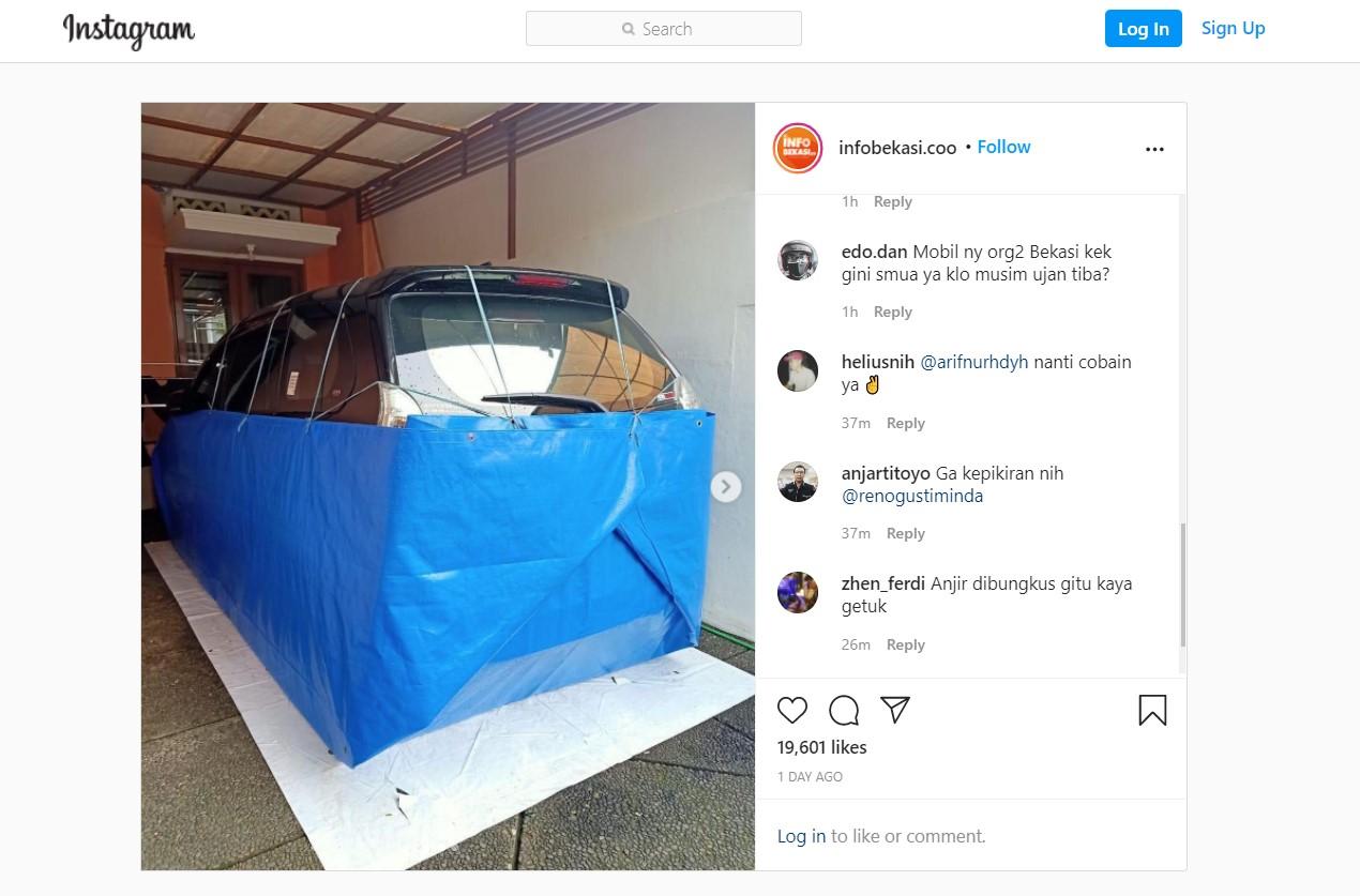 Anti Banjir, Mobil Ini di Modifikasi Dengan Cara Unik! Seperti Apa?