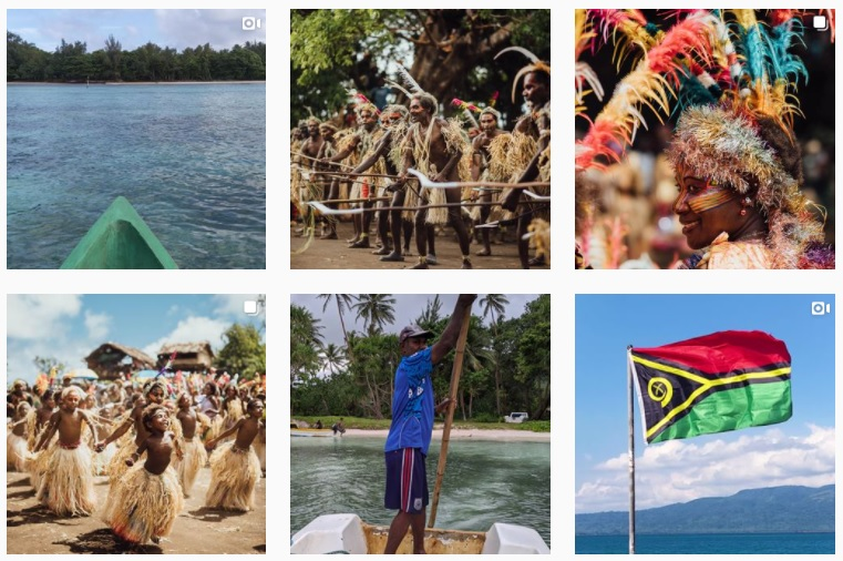 Komentar Rasis Indonesia Isi Laman Instagram Vanuatu