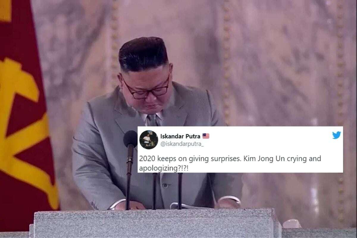 Kim Jong Un Menangis di Depan Umum, Akui Kesulitan Atasi Masa Sulit Korut