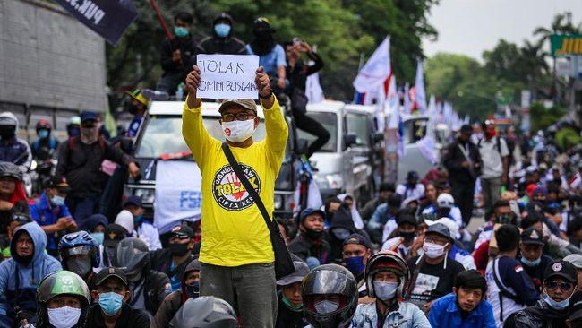 Omnibus Law Disahkan, Ini Pro dan Kontranya! (ANTARA FOTO/FAUZAN)