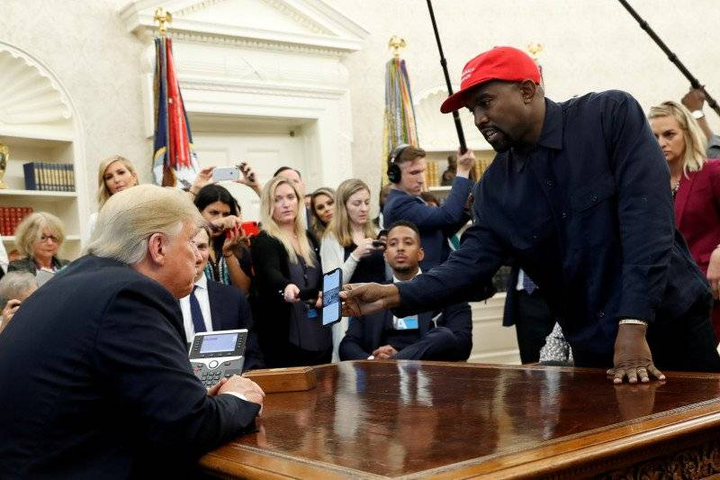 Kanye West Luncurkan Kampanye Kepresidenan Perdana, 3 Minggu Sebelum Pilpres (REUTERS/Kevin Lamarque)