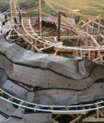 Disneyland Tutup Karena Pandemi, Pria Ini Bangun Roller Coaster Sendiri