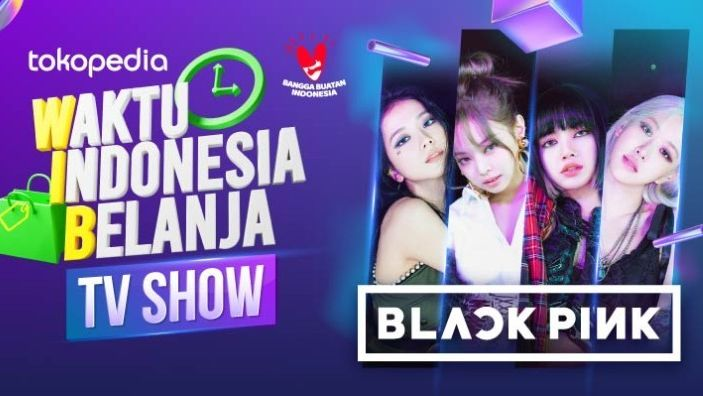 BLACKPINK Tampil di Tokopedia WIB TV Show, Catat Tanggalnya!