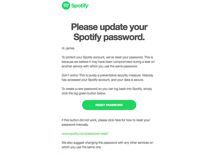 Akun Pengguna Spotify Bocor, 350 Ribu Kata Sandi Harus Direset!