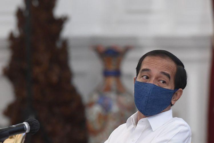 Vaksin Corona Tiba Bulan November atau Desember, Harap Presiden Jokowi (ANTARA FOTO/Hafidz Mubarak A)