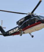Helikopter Donald Trump yang Berlapis Emas Dijual, Minat Beli? (Jeff J Mitchell/Getty)