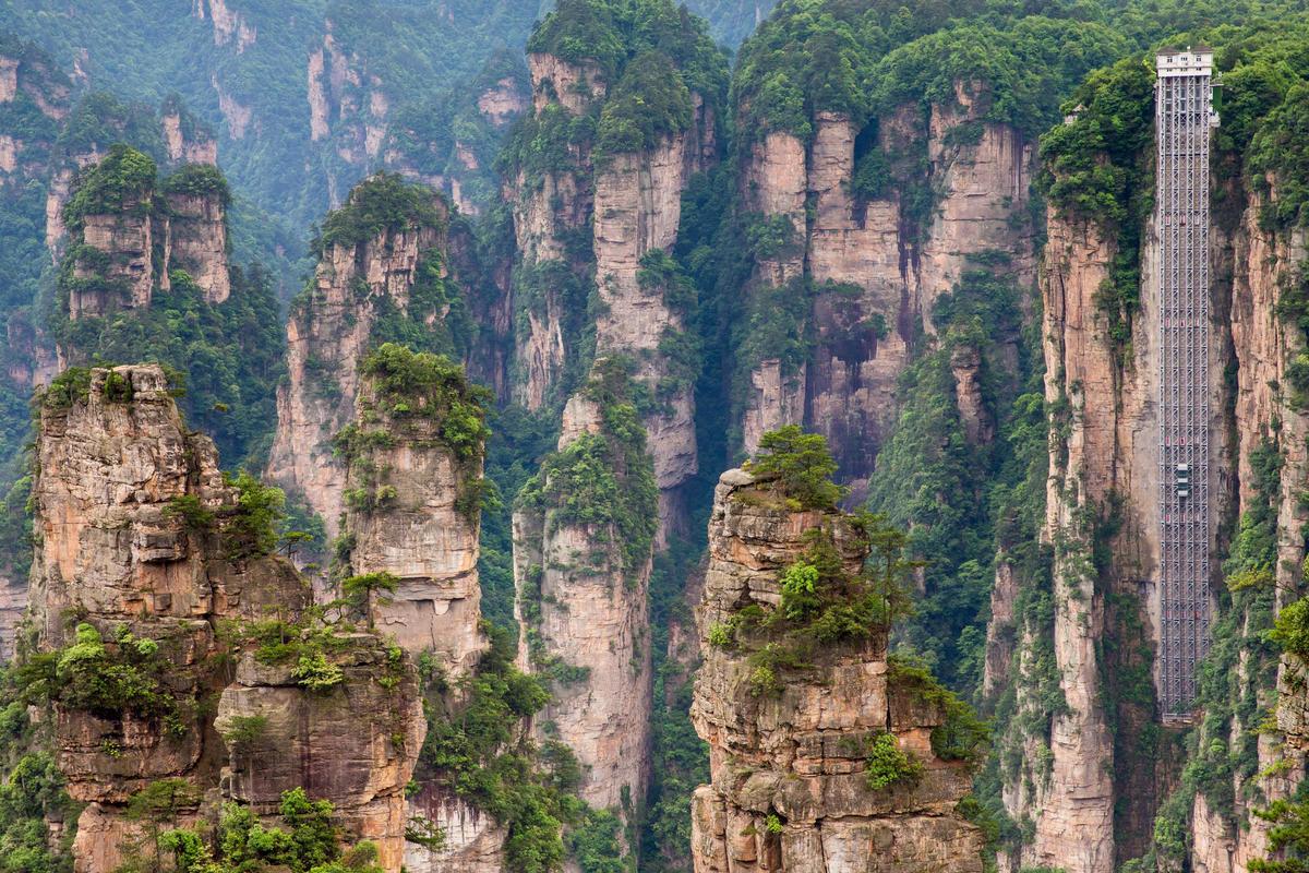 Ini Dia Lift Tertinggi di Dunia yang Lokasinya Jadi Inspirasi Film Avatar, Berani Coba Naik??