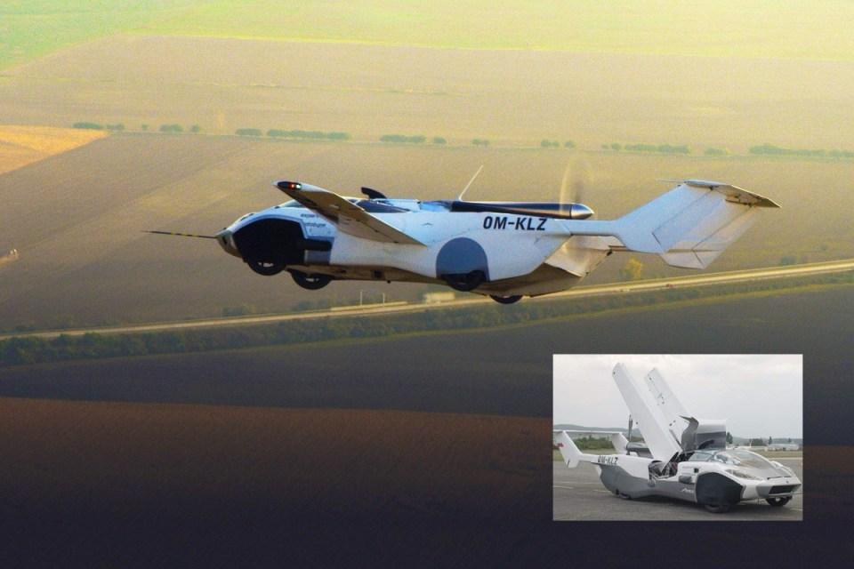 Mobil Terbang Berhasil Mengudara, Hanya Butuh Waktu 3 Menit Untuk Jadi Pesawat!